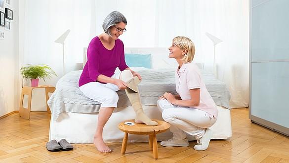 """Wundtherapie des """"offenen Beins"""" (Ulcus cruris) - Wundtherapie des """"offenen Beins"""" (Ulcus cruris)"""