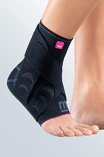 Bandage für Entlastung des Sprunggelenks mit Gurt