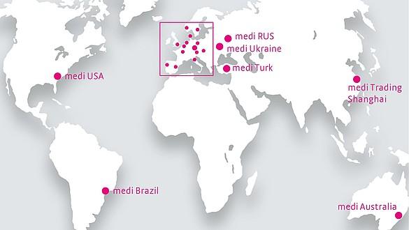 medi: une présence mondiale - medi: une présence mondiale
