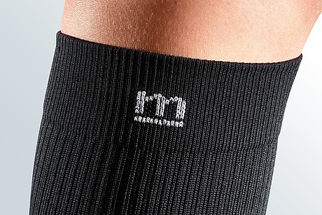 band black compression stocking for men sporty
