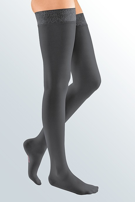 mediven elegance compression stockings anthracite